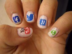 Social Media Nails