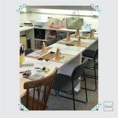 Tudo pronto para o Workshop Terapia! Amamos deixar tudo caprichado para as participantes terem uma experiência única nesta tarde!