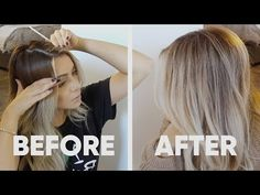 Here is my long awaited DIY at home babylights tutorial. This is my personal babylights routine and hair toner formula. A quick and easy way to add brightness to your blonde base color or balayage by Blonde Hair At Home, At Home Hair Color, Dying Hair At Home, How To Dye Hair At Home, Lighten Hair At Home, Ombre Hair At Home, Home Highlights Hair, Partial Highlights, Baby Highlights