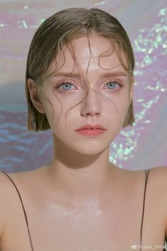 - i thought this was a pretty photo - i love the background and the girls makeup and how her hair is all stuck on her face but she's calm Aesthetic Makeup, Aesthetic Girl, Aesthetic People, Face Aesthetic, Aesthetic Drawing, Aesthetic Bedroom, Face Photography, Pinterest Photography, Photography Ideas