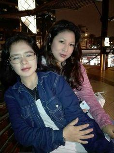Con Mely mi Divina 😊