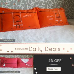 Today Only! 5% OFF this item.  Follow us on Pinterest to be the first to see our exciting Daily Deals. Today's Product: ON SALE - 11T - Happy ... Every day ! . Bed Pillow Cases / Covers Buy now: https://www.etsy.com/listing/452410662?utm_source=Pinterest&utm_medium=Orangetwig_Marketing&utm_campaign=christmans   #etsy #etsyseller #etsyshop #etsylove #etsyfinds #etsygifts #pillowcases #pillowcovers #originalgift #photooftheday #instacool #onlineshopping #musthave #instashop #instafollow…