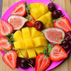 whenever I come across gorgeous fruit platter like this I just crave summer! I recommend eating this by the pool or at the beach and soak up some vitamin D Hope y'all in the US are enjoying your summer
