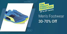 Flipkar Offers: Huge Discount on Men's Footwear Up To 70% Off  Shop Now