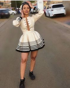 Do you want to craft SOUTH AFRICA XHOSA DRESSES from your modern fabric and don't have an idea of where to start or what to make? South African Traditional Dresses, Traditional Fashion, Traditional Outfits, Traditional Styles, Xhosa Attire, African Attire, African Wear, African Theme, African Style