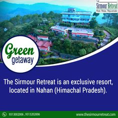 One of the most #DeluxeHotels in #Nahan, The Sirmour Retreat. Compared to other #HillStations in #HimachalPradesh, #Nahan is a rather unknown #TouristDestination. Contact Us☎️ +91-9313002006 / +91-9313202006 E-mail 📧 jpbr_sirmour@yahoo.co.in Visit👉 https://goo.gl/o2poEd