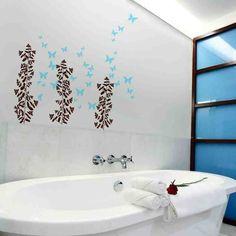 Decorating Ideas for Bathroom Walls | bathroom wall decor ...