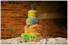 day of the dead cake!