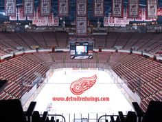 Detroit Red Wings - Joe Louis Arena