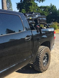 Click this image to show the full-size version. Tundra Truck, Toyota Trucks, Toyota Tundra, Backup Camera, Trd, Rear Window, Dodge, Monster Trucks, Building
