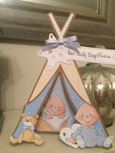 Marianne Design Cards, Baby Cards, Babies, Christmas Ornaments, Holiday Decor, Home Decor, Babys, Decoration Home, Room Decor