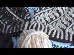 Шапка в технике Бриошь по МК Вяжем с Марией - YouTube