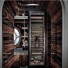 Top 80 Best Wine Cellar Ideas - Vino Room Designs Home Wine Cellars, Wine Cellar Design, Interior And Exterior, Interior Design, Wine Display, Wine Table, Wine Rack Wall, Wine Cabinets, Wine Fridge