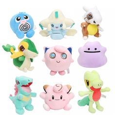 Material: Plush PP Cotton. We will send it as personal gift with low value. Pokemon Plush, Pikachu, Original Pokemon, Anime Toys, Gifts Under 10, Cute Plush, Pokemon Cards, Sword Art Online, Animals For Kids
