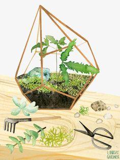 The Collectors Table: Lindsay Gardner Art & Illustration. www.lindsaygardnerart.com