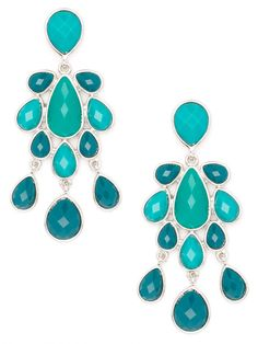 aqua drop earrings... absolutely made for summertime