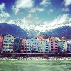 Innsbruck (took this shot in March 2012)