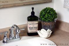SINK Vintage Industrial Glam Bathroom Reveal