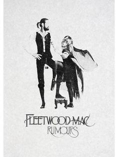 FLEETWOOD MAC, VINTAGE MUSIC POSTER