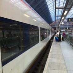 Eurostar from London to Paris thru the Chunnel