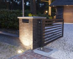 Vrijstaande woning met garage Home Design Plans, Plan Design, House Plans, Villa, Deck, House Design, House Styles, Loft, Houses