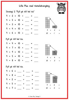 Stora Plus – Montessoriinspirerad matematik Teacher Education, School Teacher, Math Exercises, Educational Activities For Kids, Math Strategies, Math Addition, Math Numbers, Teaching Math, Maths