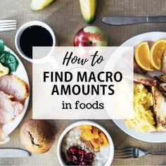 A step-by-step guide for tracking and measuring the macronutrient amounts in the foods you're eating when counting macros or flexible dieting. Macro Nutrition, Nutrition Guide, Healthy Nutrition, Healthy Eating, Nutrition Chart, Nutrition Plans, Clean Eating, Easy Diet Plan, Diet Plan Menu