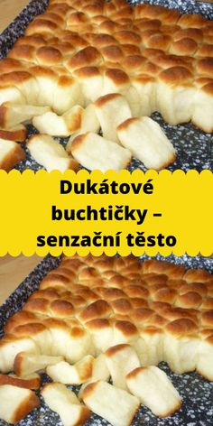 Czech Recipes, Good Food, Food And Drink, Pizza, Cooking Recipes, Healthy, Sweet, Kitchens, Candy