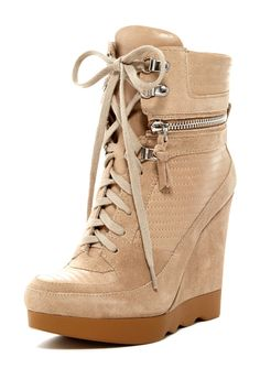 Wedge High-Top Sneaker
