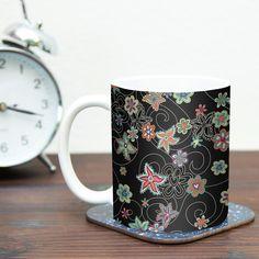 My Small Flowers by Julia Grifol 11 oz. Floral Ceramic Coffee Mug