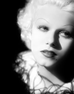 Jean Harlow, 1934, photo by George Hurrell via sparklejamesysparkle
