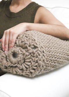 Kit de Crochet para un Cojín de Lana Firefly