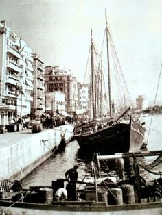 Thessaloniki, Macedonia, Nymph, Sailing Ships, Istanbul, The Past, Greek, Boat, Places