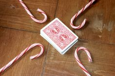 The candy cane game. A fun and hilarious way to use those leftover candy canes.
