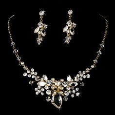 Swarovski Bridal Jewelry Silver Gold Tiaras Boutique Prom