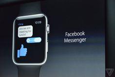 Facebook Messenger y GoPro entre las nuevas app para el Apple Watch - http://www.esmandau.com/175889/facebook-messenger-y-gopro-entre-las-nuevas-app-para-el-apple-watch/