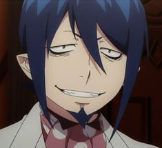 Blue Exorcist Mephisto, Ao No Exorcist, King Of Time, Manga, Loki Drawing, Hot Anime Boy, Cockatoo, Dad Jokes, Lolita Fashion
