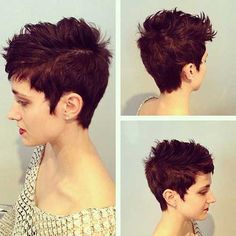 Messy Pixie Cut Hair Colors                                                                                                                                                                                 More