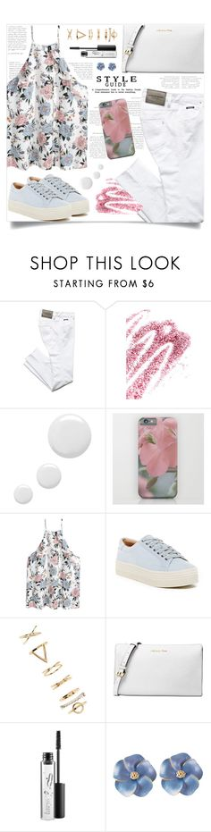 """OOTD - Saturday Morning"" by by-jwp ❤ liked on Polyvore featuring Obsessive Compulsive Cosmetics, Topshop, Marc Fisher LTD, Forever 21, Michael Kors and MAC Cosmetics"