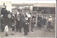 Hakafot circa 1930's in Israel