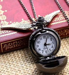 Amazon.com: Time Flies - Quidditch Black Flying Snitch: Watches