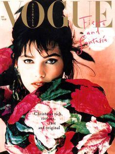 Lauren Lindberg - Aust Vogue 1988