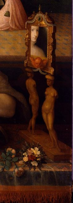 """Detail from """"Lady at her Toilette"""",16th Century"""