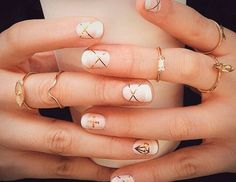 Image viaNice light ombre paired with sparkle and a little nail art. Love this :)Image viatop 120 nail art designs 2015 trendsImage viaSpring Nail - 45 Warm Nails Perfect for Gold Nails, Nude Nails, Gold Manicure, Diamond Nails, White Nails, Red Nail, Pink Nail, Coffin Nails, Acrylic Nails