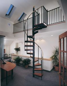cabin spiral staircase ordered this weekend! love the guys at The Iron Shop - who matched their bid from 2.5 years ago!