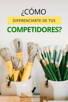 ¿Cómo diferenciarse de la competencia? #artesanía #negocio #emprendimiento #etsyseller #ventas #clientes #marketing