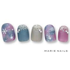 Daisy Nail Art, Daisy Nails, Sculpted Gel Nails, Cute Nail Designs, Cool Nail Art, Nail Arts, Winter Nails, Christmas Nails, Cute Nails
