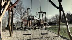 Dětské hřiště na Parukářce Utility Pole