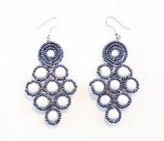 Signature, ethnic chic fusion earrings! Perfect for your spring or summer outfit. Get yours today @ lotuslandimports.com !