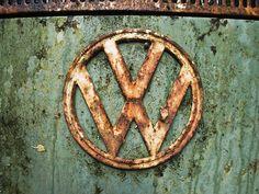69 VW Bus emblem. @Deidré Wallace